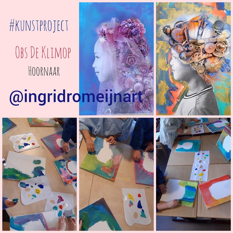 Kunst project op Basisschool OBS De Klim-OP